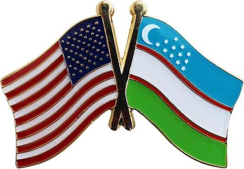 Uzbekistan Friendship Lapel Pin