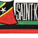 St. Kitts and Nevis Cut-Out Patch