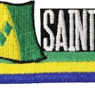St. Vincent and the Grenadines Cut-Out Patch
