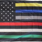 First Responders (USA) - 3'X5' Nylon Flag
