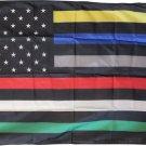 First Responders (USA) - 3'X5' Nylon Flag