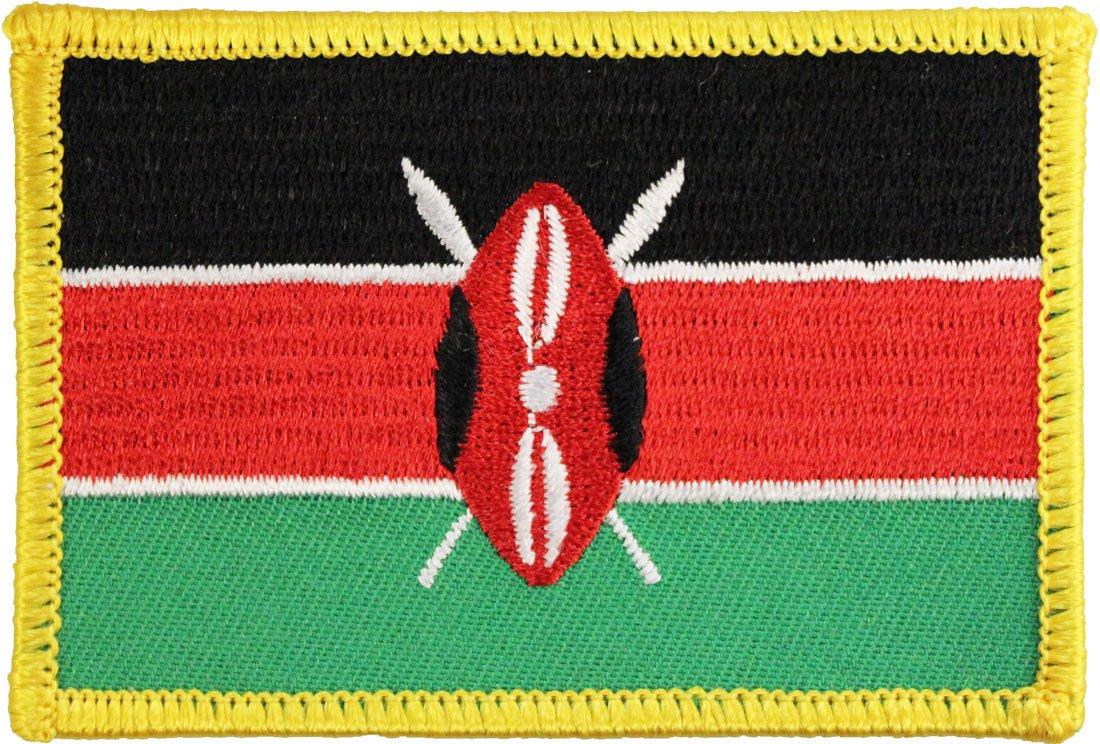 Kenya Rectangular Patch