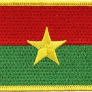 Burkina Faso Rectangular Patch