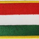 Hungary Rectangular Patch