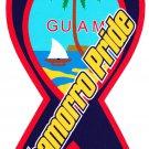 "Guam Magnet - 4"" x 8"" Ribbon Magnet"