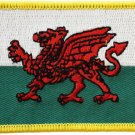 Wales Rectangular Patch