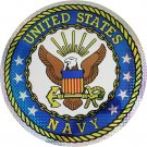 "Navy - 12"""" Reflective Decal (Seal)"
