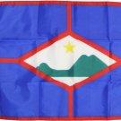 """St. Eustatius - 12""""X18"""" Nylon Flag"""