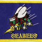 Seabees Rectangular Patch