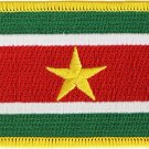 Suriname Rectangular Patch
