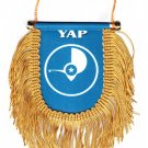 Yap Window Hanging Flag (Shield)