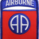 82nd Airborne Division Shield Patch (Blue Border)