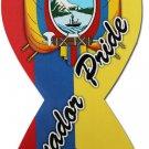 Ecuador Ribbon Magnet (Ecuador Pride)