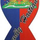 Haiti Ribbon Magnet (Proudly Haitian)