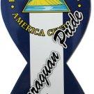 Nicaragua Ribbon Magnet (Nicaraguan Pride)