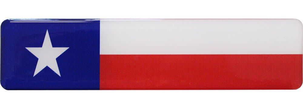 Texas Long Domed Sticker