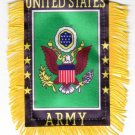 Army Window Hanging Flag
