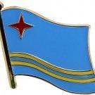 Aruba Flag Lapel Pin