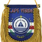 Cape Verde Window Hanging Flag (Shield)