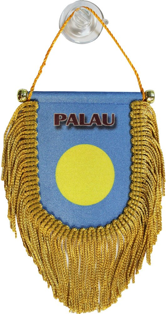 Palau Window Hanging Flag (Shield)