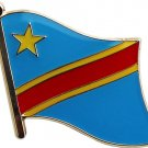 Democratic Republic of Congo Flag Lapel Pin