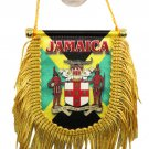 Jamaica Window Hanging Flag (Shield)