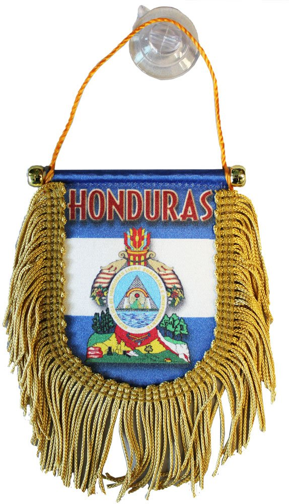 Honduras Window Hanging Flag (Shield)