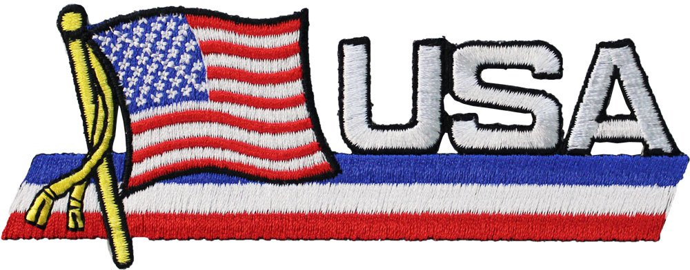 USA Cut-Out Patch