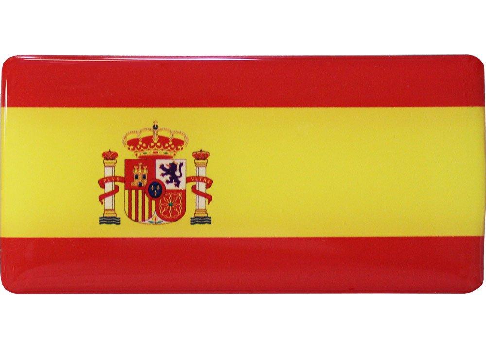 Spain Domed Sticker