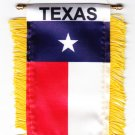 Texas Window Hanging Flag