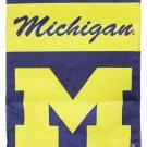 "University of Michigan (Wolverines) - 13""x18"" 2-Sided Garden Banner"