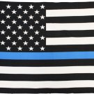 Thin Blue Line (USA) Fleece Blanket
