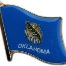 Oklahoma Flag Lapel Pin