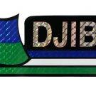 Djibouti Bumper Sticker