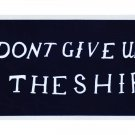 Commodore Perry (Dont Give Up the Ship) Auto Decal
