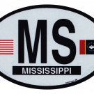 Mississippi (2021) Oval Decal