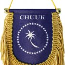 Chuuk Window Hanging Flag (Shield)