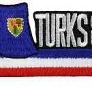 Turks and Caicos Cut-Out Patch