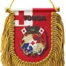 Tonga Window Hanging Flag (Shield)
