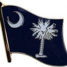 South Carolina Flag Lapel Pin