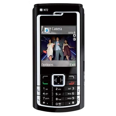 Nokia N72 N-Series Mobile Phone