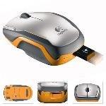 Logitech V400 Cordless Wireless Laser Notebook Mouse