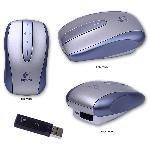 Logitech V500 Cordless Notebook Compact USB Mouse