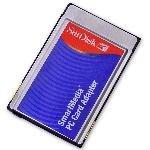 SanDisk Smart Media Memory Card Reader PC Card Adapter
