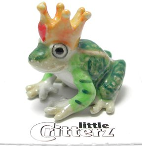 """Little Critterz - """"Kiss"""" Frog Prince LC335"""
