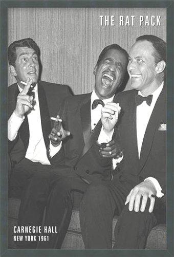 The Rat Pack Poster 24x36 Frank Sinatra Dean Martin Sammy Davis Jr.
