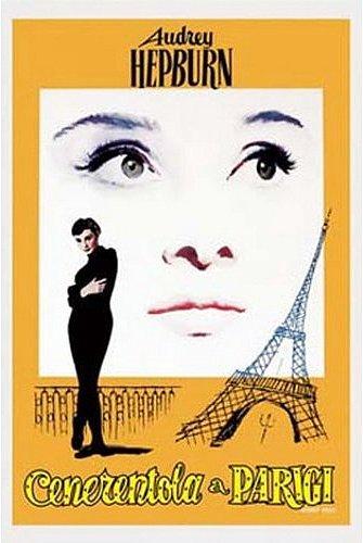 Funny Face Italian Movie Poster 24x36 Audrey Hepburn Cenerentola a Parigi