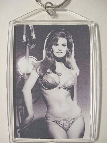 RAQUEL WELCH Keychain Key Chain Bedazzled Lillian Lust