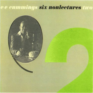 e e cummings six nonlectures on CD two i & their son e.e.