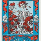 Grateful Dead Poster 24x36 Skeleton and Roses Avalon Ballroom Omar Khayyam Rubaiyat